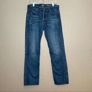 Seven 7 For All Mankind Standard Jeans Sz 33 x 32